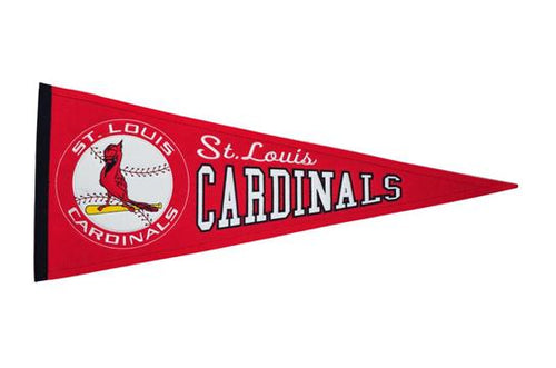 St. Louis Cardinals MLB Baseball Cooperstown Pennant - Dynasty Sports & Framing