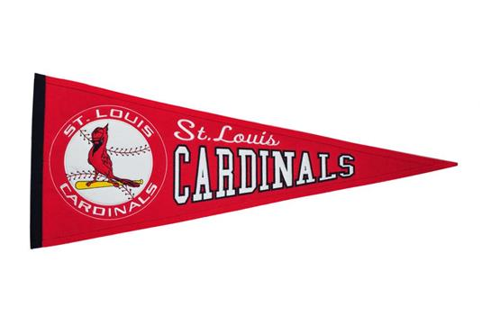 St. Louis Cardinals Cooperstown Pennant | MLB Baseball Flags ...