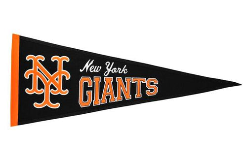 New York Giants MLB Baseball Cooperstown Pennant