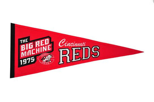 Cincinnati Reds MLB Baseball Cooperstown Pennant - Dynasty Sports & Framing