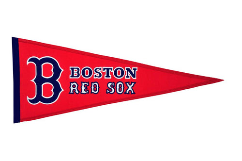 Boston Red Sox MLB Baseball Traditions Pennant - Dynasty Sports & Framing