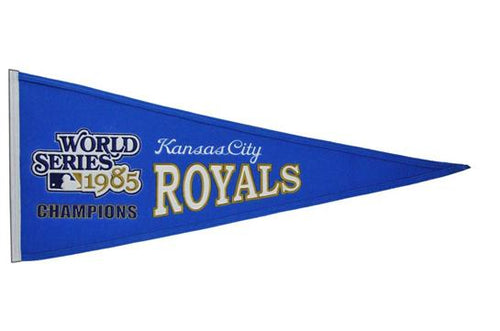 Kansas City Royals #2 MLB Baseball Cooperstown Pennant