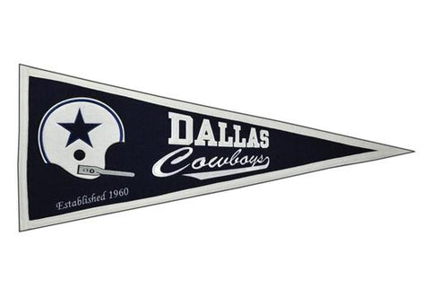Dallas Cowboys NFL Football Throwback Pennant