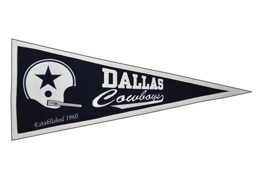 02dd39d6 Dallas Cowboys Throwback Pennant | NFL Football Flags, Banners, and  Pennants – Dynasty Sports & Framing