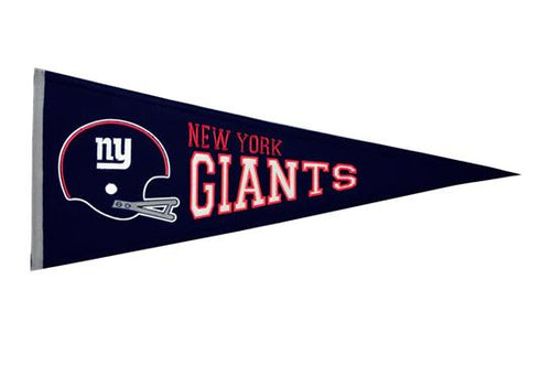 New York Giants NFL Football Throwback Pennant