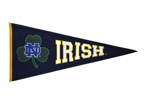 Notre Dame Fighting Irish NCAA Traditions Pennant - Dynasty Sports & Framing
