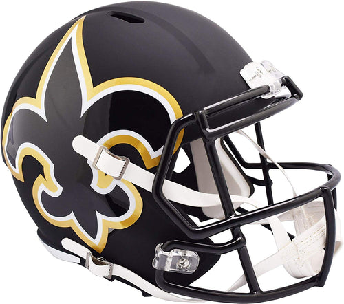 New Orleans Saints Amp Alternative Riddell Speed Mini Helmet - Dynasty Sports & Framing