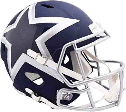 Dallas Cowboys Amp Alternative Riddell Speed Mini Helmet - Dynasty Sports & Framing