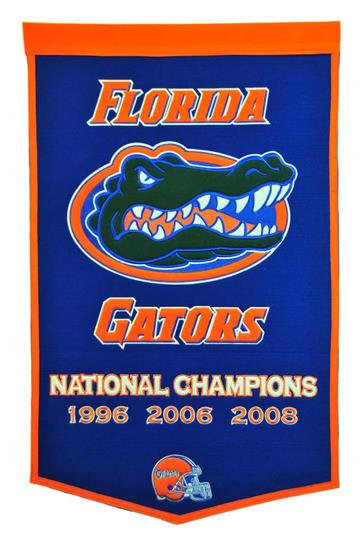 Florida Gators NCAA Football Dynasty Banner - Dynasty Sports & Framing