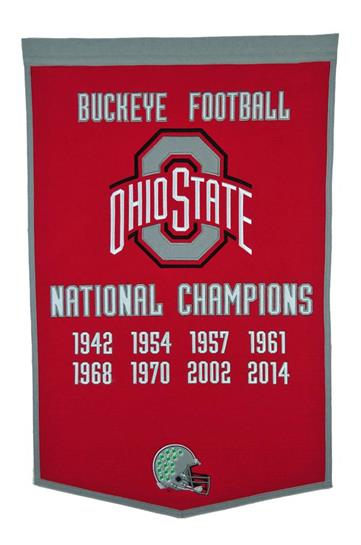 Ohio State Buckeyes NCAA Football Dynasty Banner - Dynasty Sports & Framing
