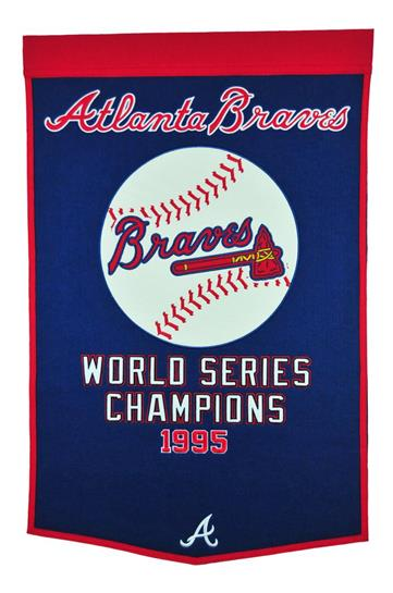 Atlanta Braves MLB Dynasty Banner - Dynasty Sports & Framing