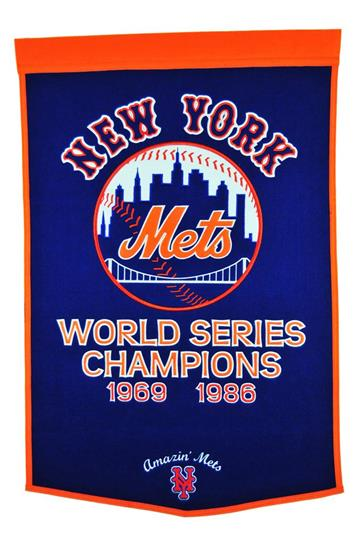 New York Mets MLB Dynasty Banner - Dynasty Sports & Framing