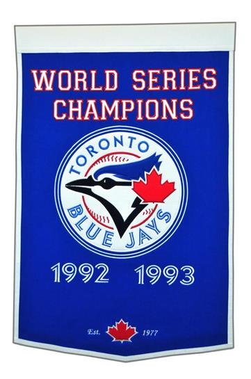 Toronto Blue Jays MLB Dynasty Banner - Dynasty Sports & Framing