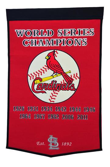 St. Louis Cardinals MLB Dynasty Banner - Dynasty Sports & Framing