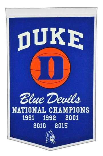 Duke Blue Devils NCAA Basketball Dynasty Banner