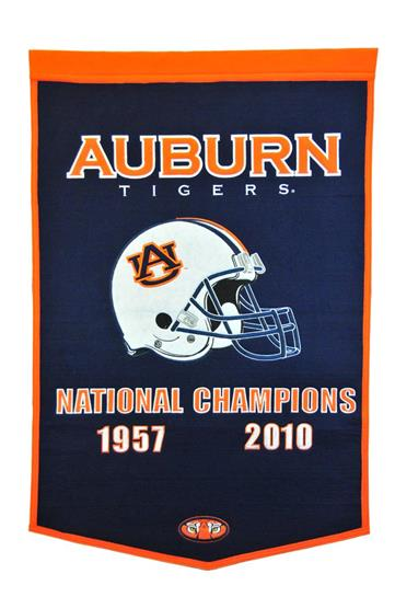 Auburn Tigers NCAA Dynasty Banner - Dynasty Sports & Framing