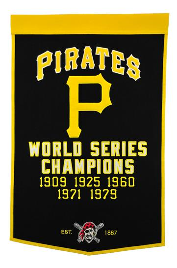 Pittsburgh Pirates MLB Dynasty Banner - Dynasty Sports & Framing
