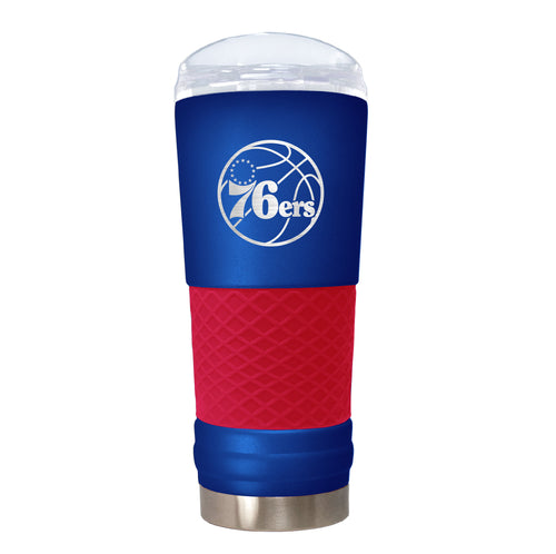 Philadelphia 76ers 18 oz. Jr. Draft Stainless Steel Travel Tumbler - Dynasty Sports & Framing