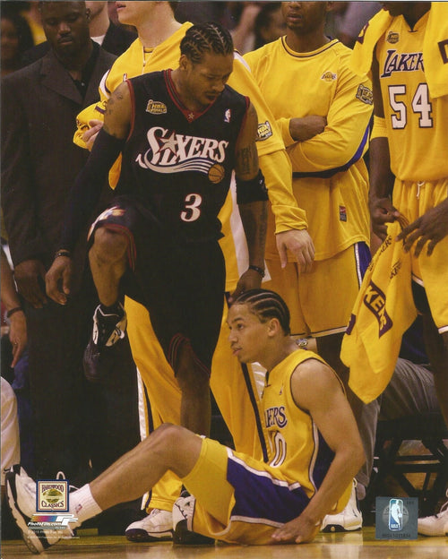 Allen Iverson Over Lue Philadelphia 76ers Photo