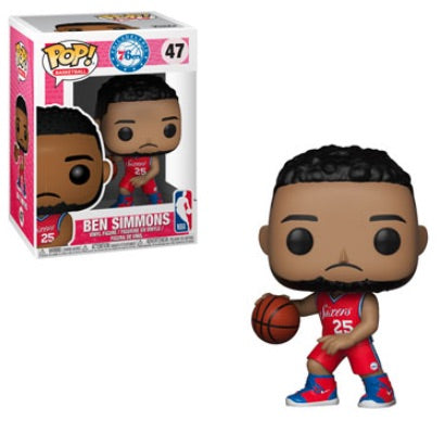 Ben Simmons Philadelphia 76ers Funko Pop! NBA Basketball Vinyl Figure - Dynasty Sports & Framing