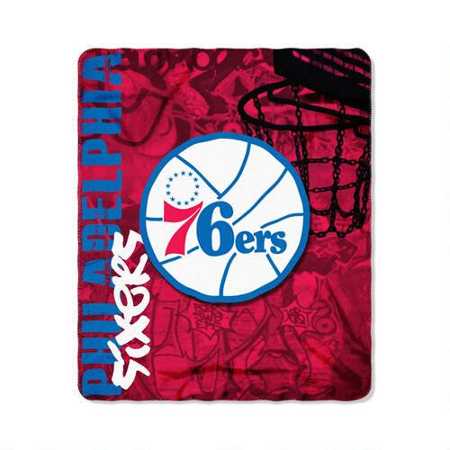 Philadelphia 76ers Fleece Blanket - Dynasty Sports & Framing