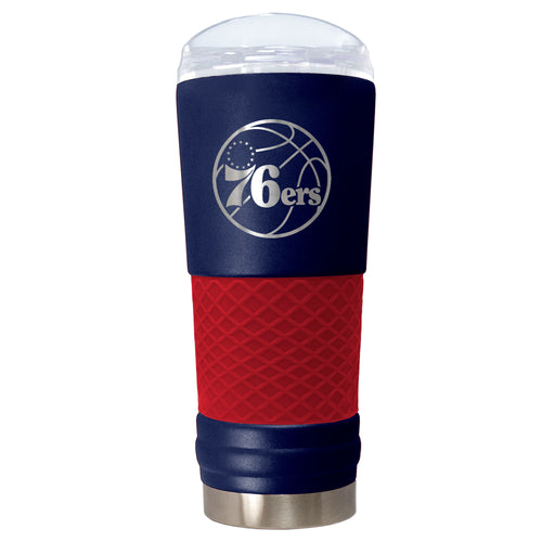 "Philadelphia 76ers ""The Draft"" 24 oz. Stainless Steel Travel Tumbler - Dynasty Sports & Framing"