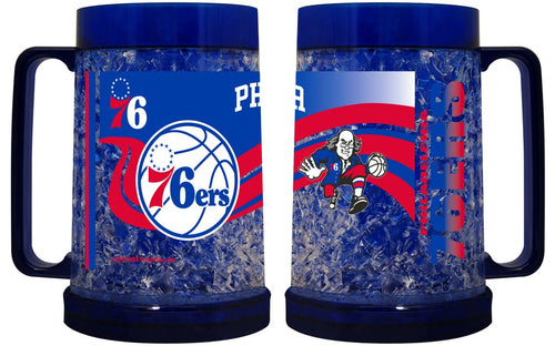 Philadelphia 76ers NBA Basketball Freezer Mug - Dynasty Sports & Framing