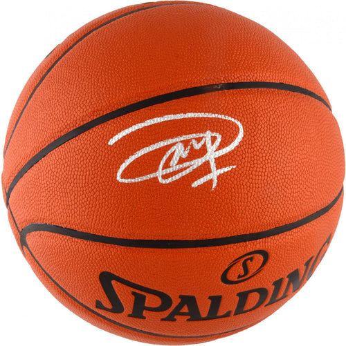 Joel Embiid Philadelphia 76ers Autographed I/O Basketball - Dynasty Sports & Framing
