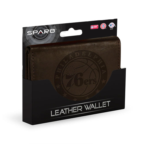 Philadelphia 76ers Leather Wallet - Dynasty Sports & Framing