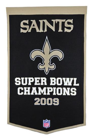 New Orleans Saints NFL Dynasty Banner - Dynasty Sports & Framing