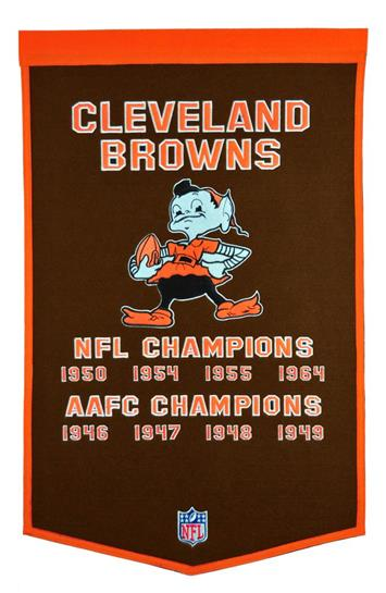 Cleveland Browns NFL Dynasty Banner - Dynasty Sports & Framing