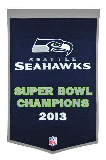 Seattle Seahawks NFL Dynasty Banner