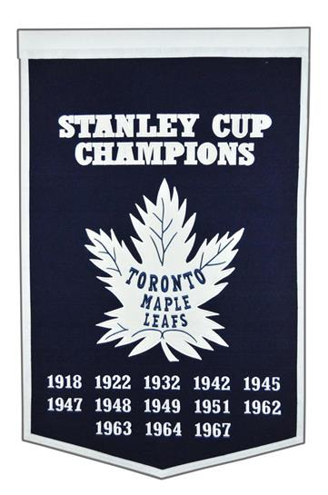 Toronto Maple Leafs NHL Dynasty Banner - Dynasty Sports & Framing
