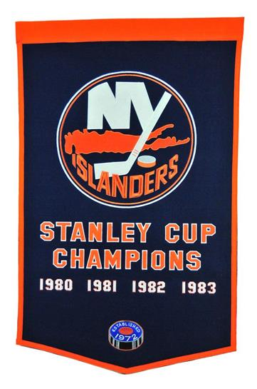 New York Islanders NHL Dynasty Banner - Dynasty Sports & Framing