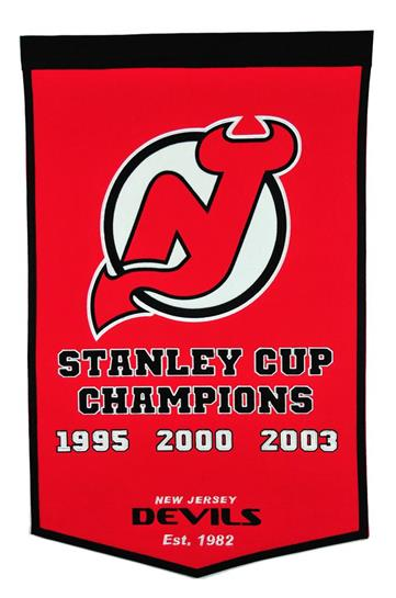 New Jersey Devils NHL Dynasty Banner - Dynasty Sports & Framing