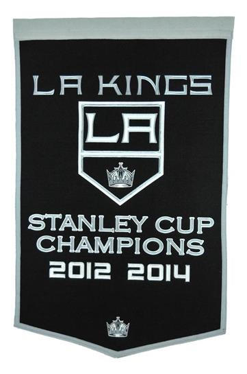Los Angeles Kings NHL Dynasty Banner
