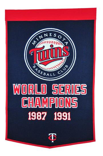 Minnesota Twins MLB Dynasty Banner - Dynasty Sports & Framing