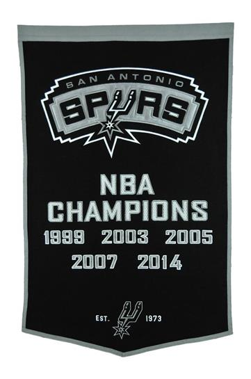 San Antonio Spurs NBA Dynasty Banner - Dynasty Sports & Framing
