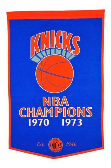 New York Knicks NBA Dynasty Banner - Dynasty Sports & Framing
