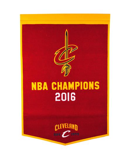 Cleveland Cavaliers NBA Dynasty Banner - Dynasty Sports & Framing