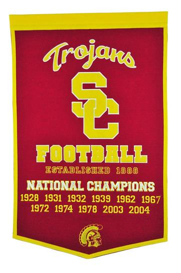 Southern California Trojans NCAA Football Dynasty Banner - Dynasty Sports & Framing
