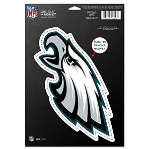"Philadelphia Eagles NFL Football 8"" Die-Cut Magnet - Dynasty Sports & Framing"