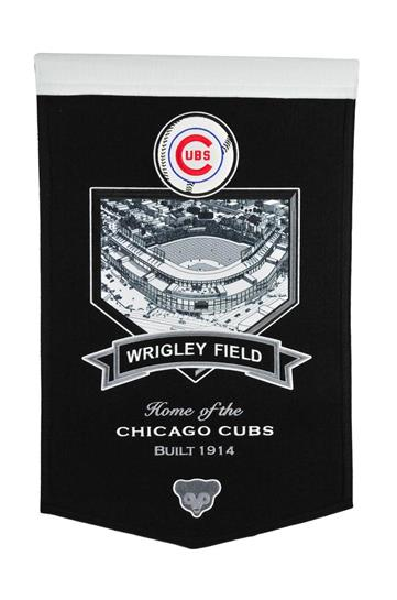 Chicago Cubs Wrigley Field Stadium Banner - Dynasty Sports & Framing