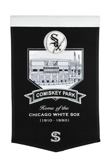 Chicago White Sox Comiskey Park Stadium Banner