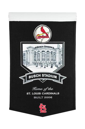St. Louis Cardinals Busch Stadium Banner - Dynasty Sports & Framing