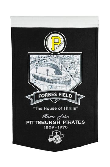 Pittsburgh Pirates Forbes Field Stadium Banner - Dynasty Sports & Framing