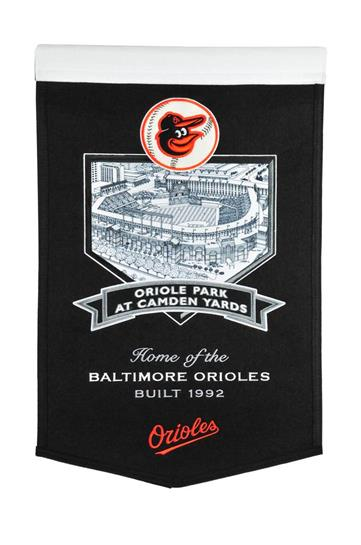 Baltimore Orioles Oriole Park at Camden Yards Stadium Banner