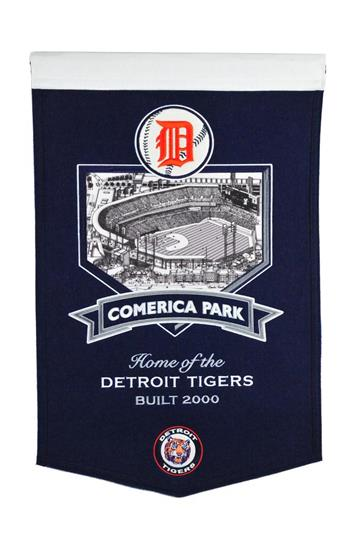 Detroit Tigers Comerica Park Stadium Banner - Dynasty Sports & Framing