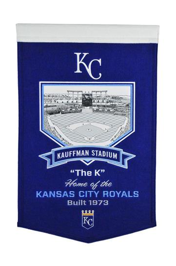 Kansas City Royals Kauffman Stadium Banner