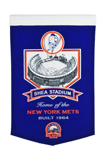 New York Mets Shea Stadium Banner - Dynasty Sports & Framing